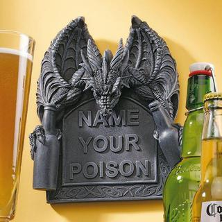 Name your Poison Wall Plaque