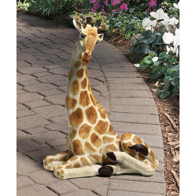Zari the Resting Giraffe