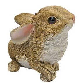 Baby Bunny Ears back statue