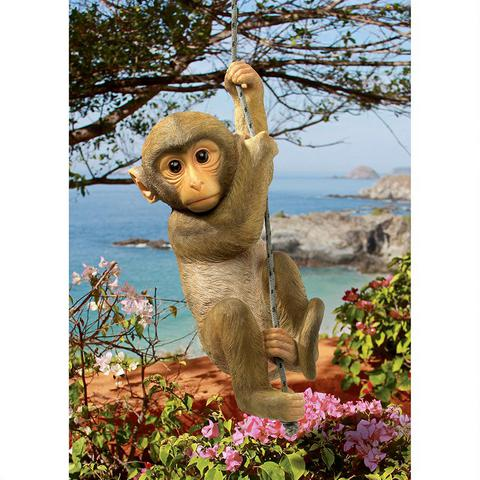 Chico the Monkey Hanging statue