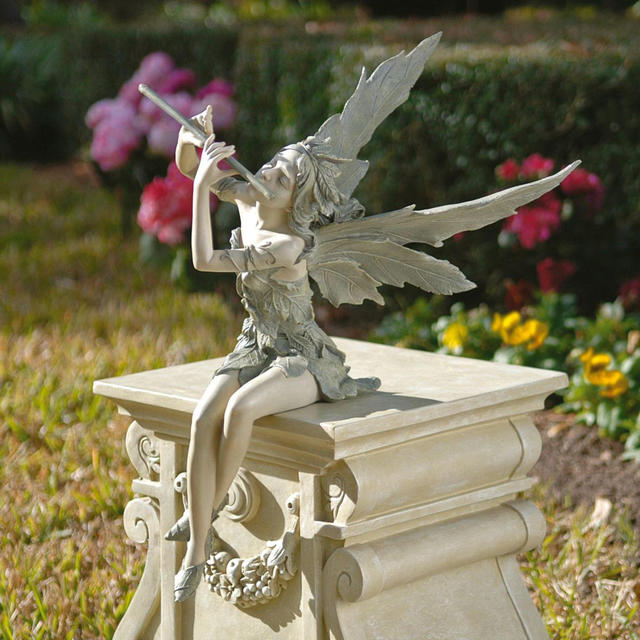 Fairy of the West Wind Sitting Statue