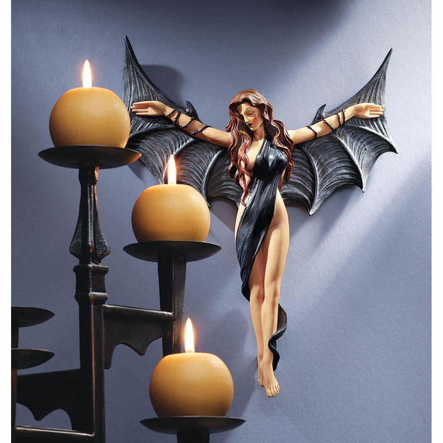 The Midnight Mistress Vampire Wall Sculpture