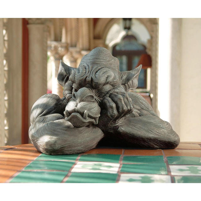 Goliath the Gargoyle statue